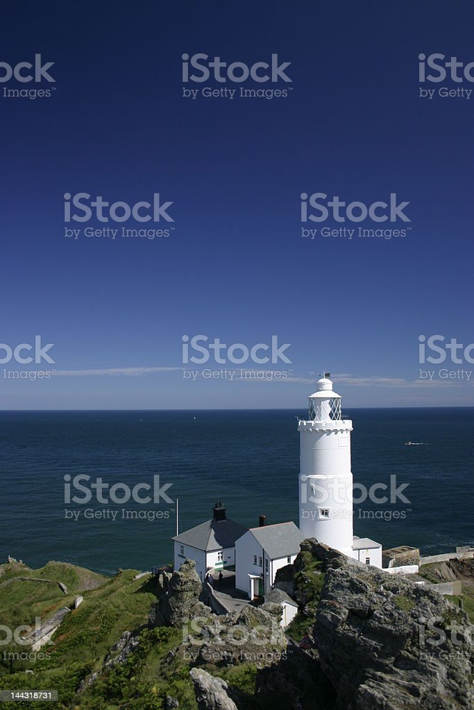 Start Point Lighthouse stock photo