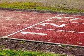 start position on tartan track