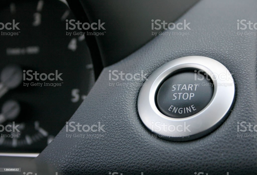 start stop button royalty-free stock photo