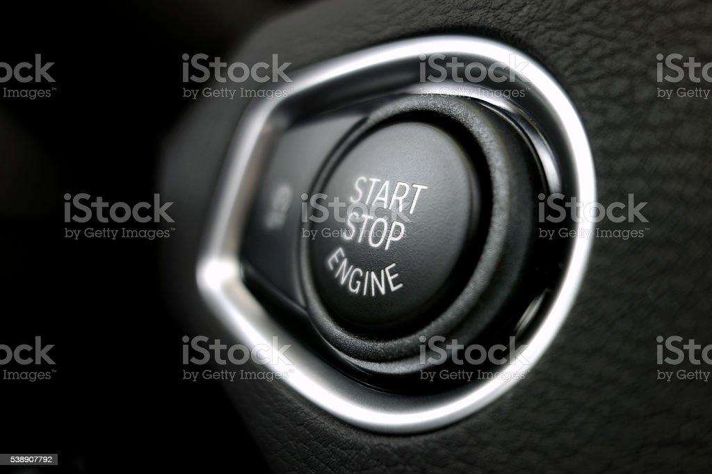 Start stop stock photo