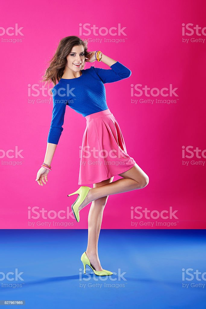 Start thinking positive about your life! stock photo