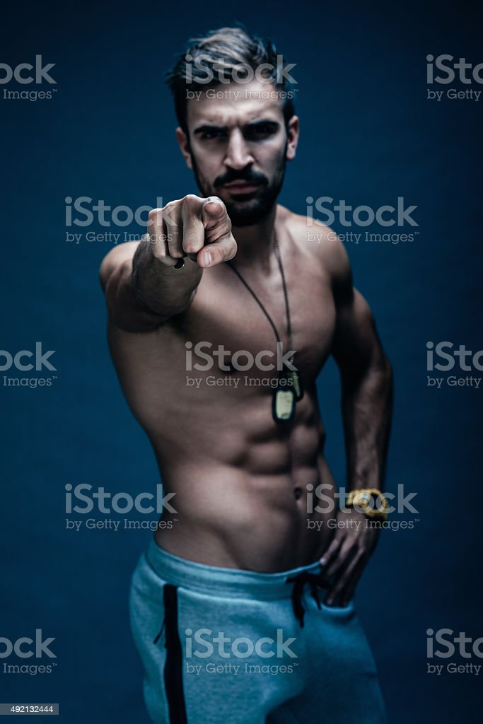 YOU ! start training now stock photo