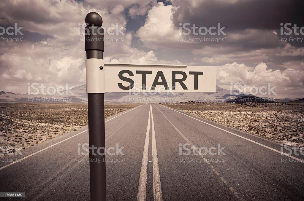 Start Your Career stock photo