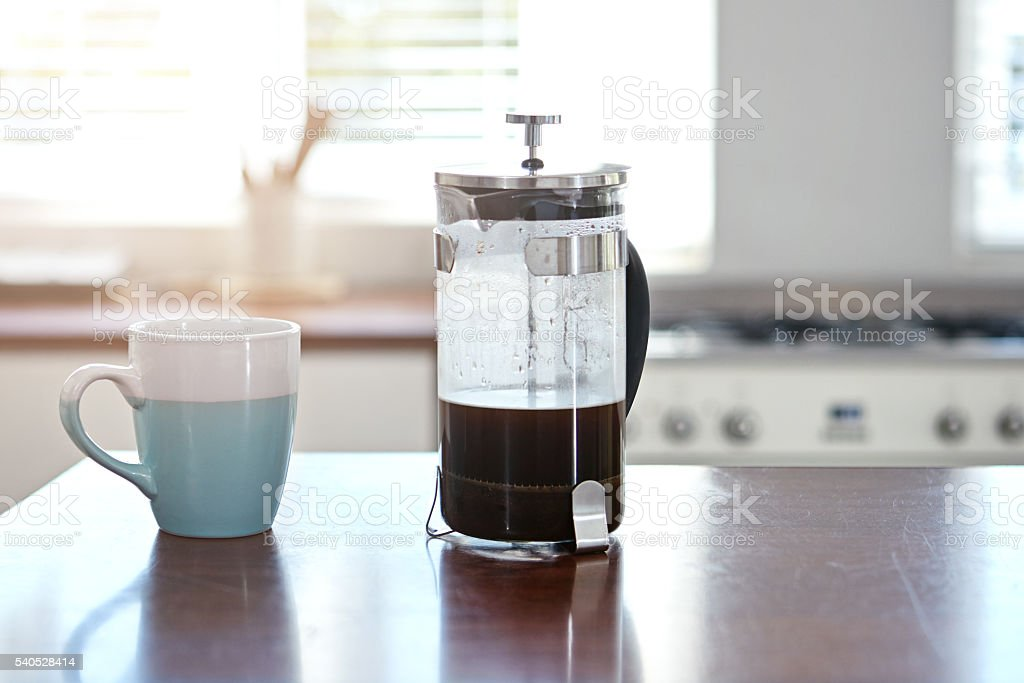 Start your morning right stock photo