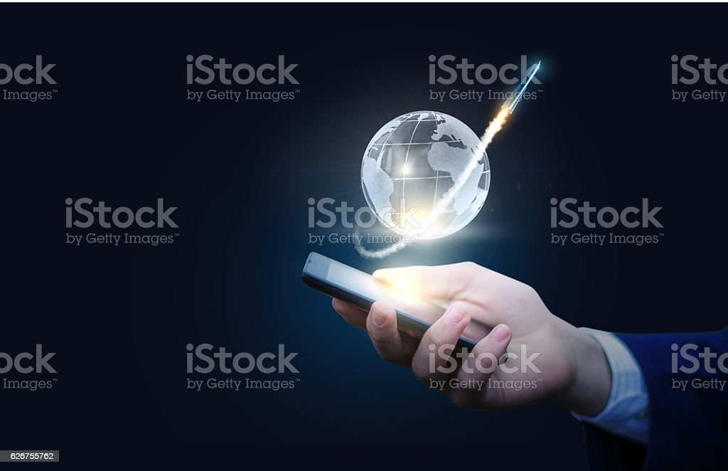 Starting a business. Concept of start up. stock photo