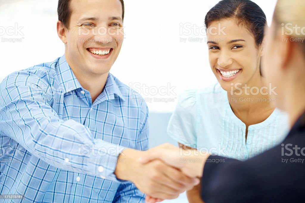 Starting a life together - Financial Loans royalty-free stock photo