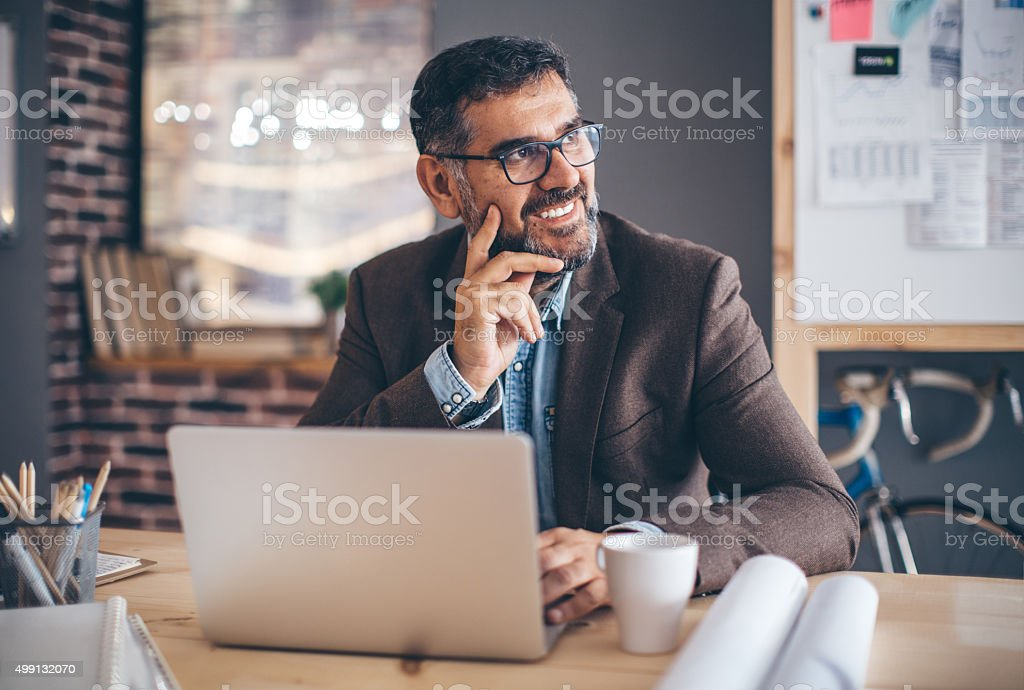 Starting a new project. stock photo