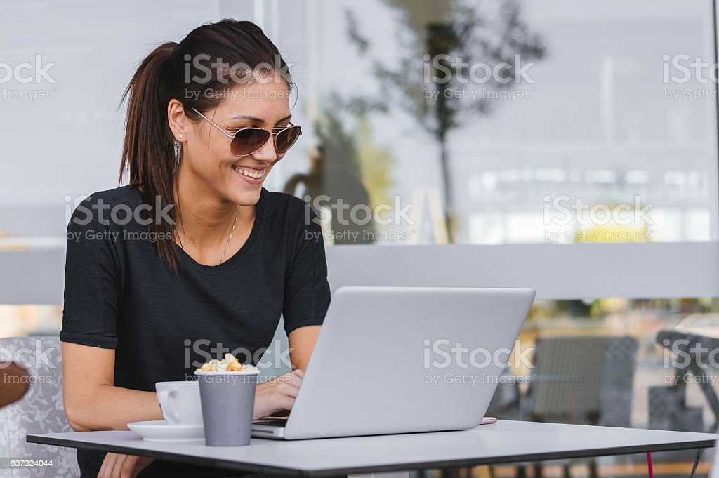 Starting a New startup with good news! stock photo