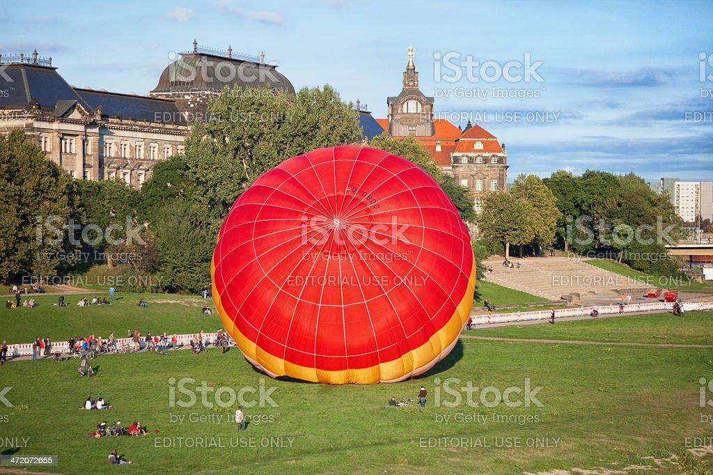Starting balloon stock photo