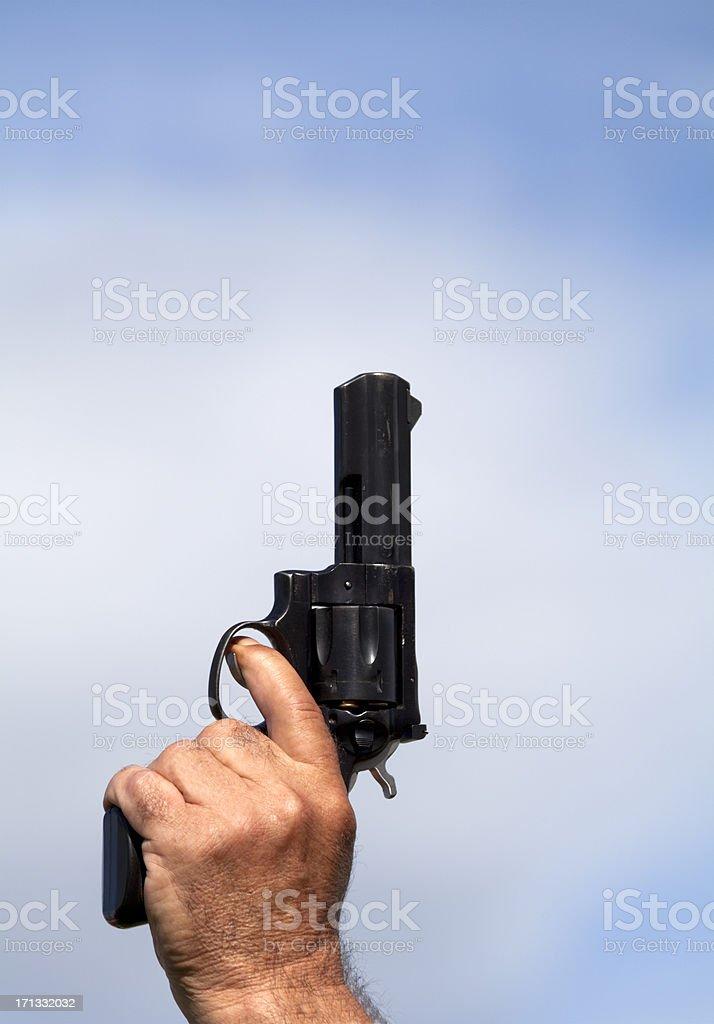 Starting Pistol stock photo