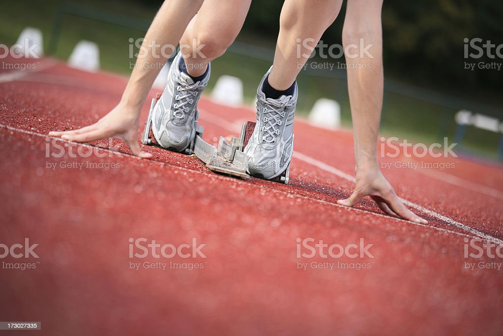 starting sequence royalty-free stock photo