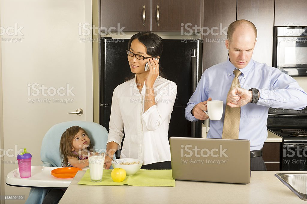 Starting the day royalty-free stock photo