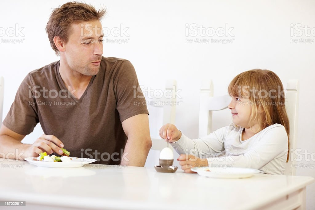 Starting the day together royalty-free stock photo