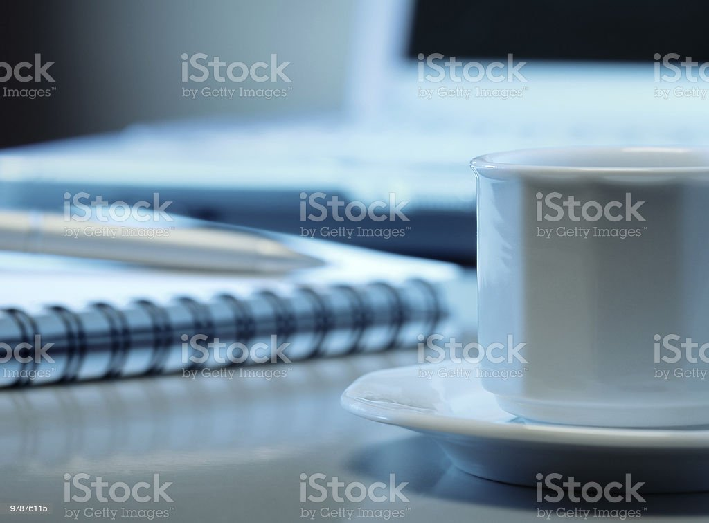 Starting the work royalty-free stock photo
