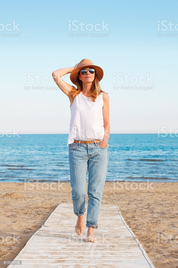 Starting your vacation stock photo