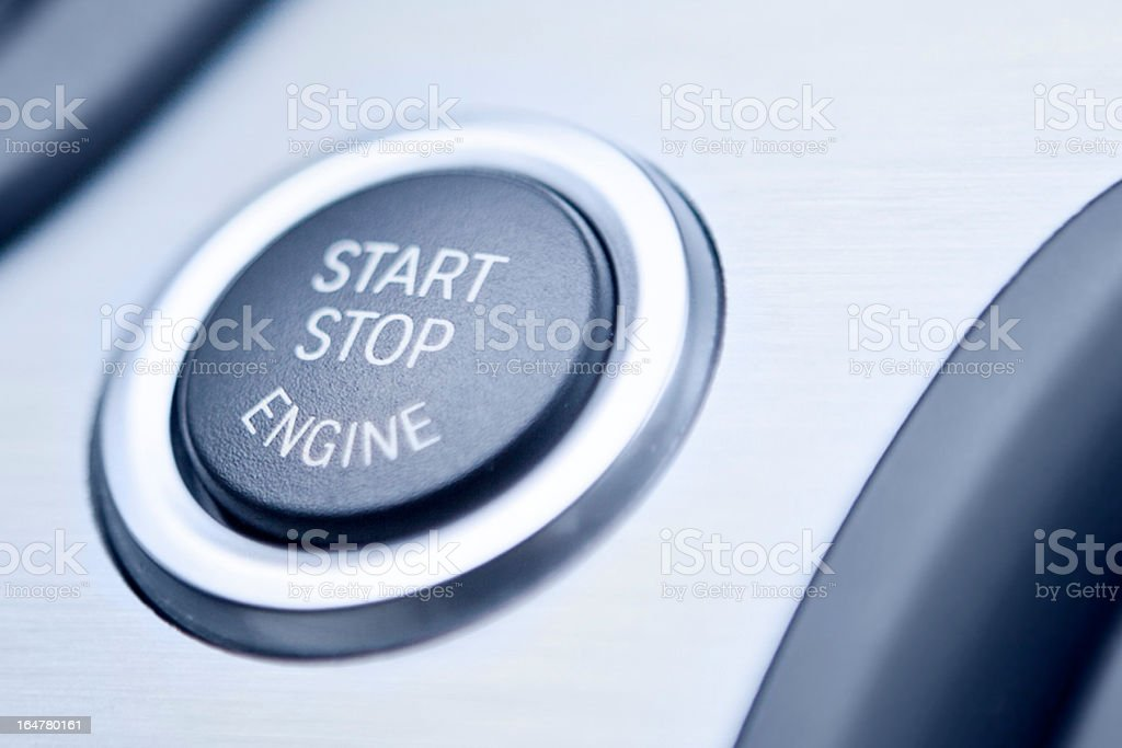 Start/Stop Engine royalty-free stock photo