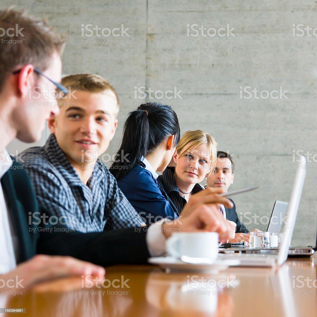 Startup Team Meeting royalty-free stock photo