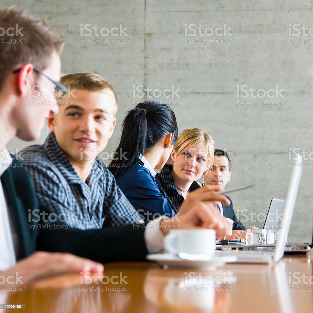 Startup Team Meeting stock photo