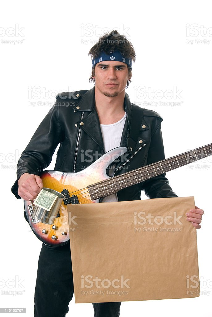 Starving Artist royalty-free stock photo