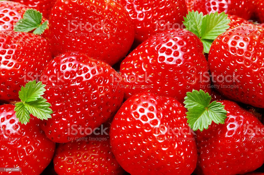 starwberry closeup royalty-free stock photo