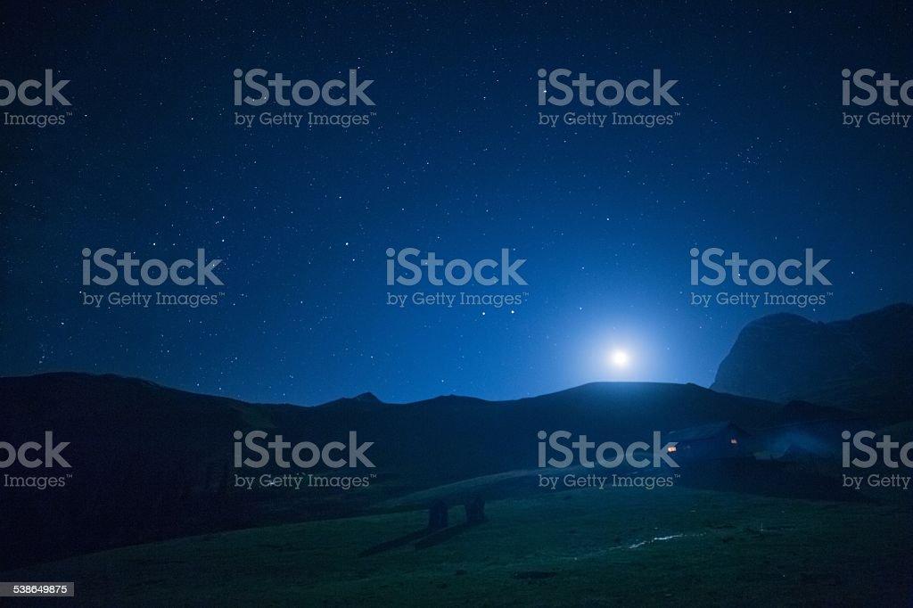 Stary Night stock photo