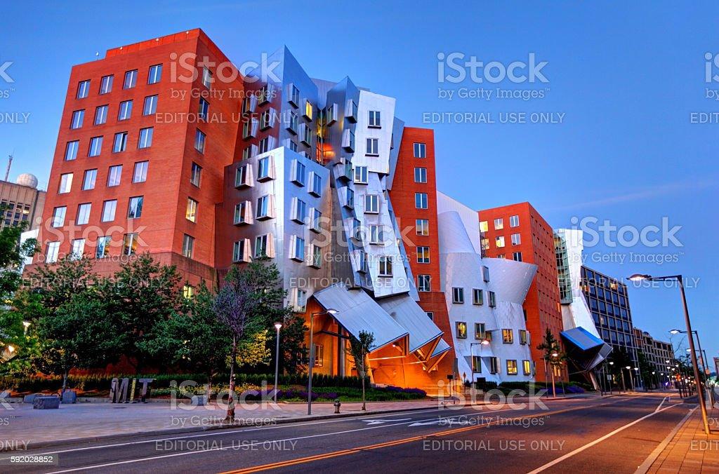 Stata Center MIT stock photo