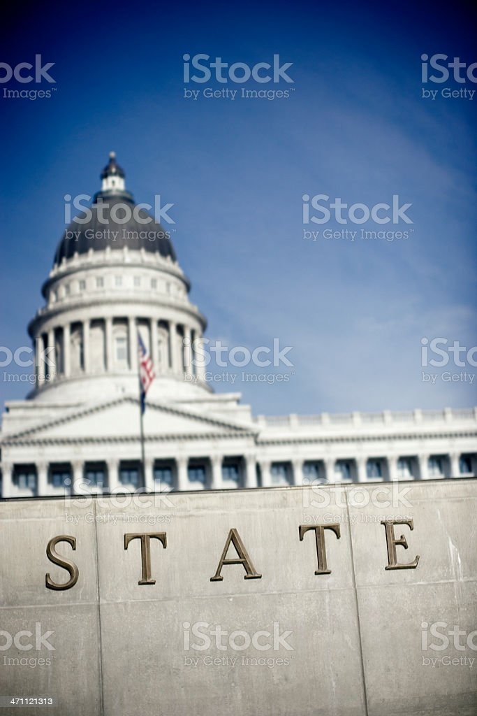 State Building stock photo