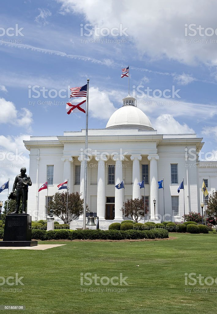 State Capital Building of Alabama. stock photo