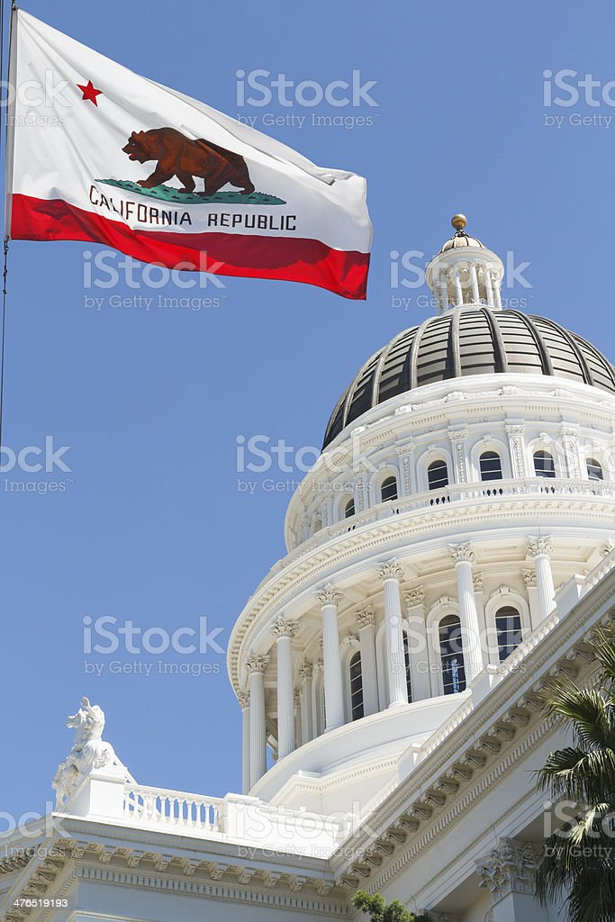 State Capital of California stock photo