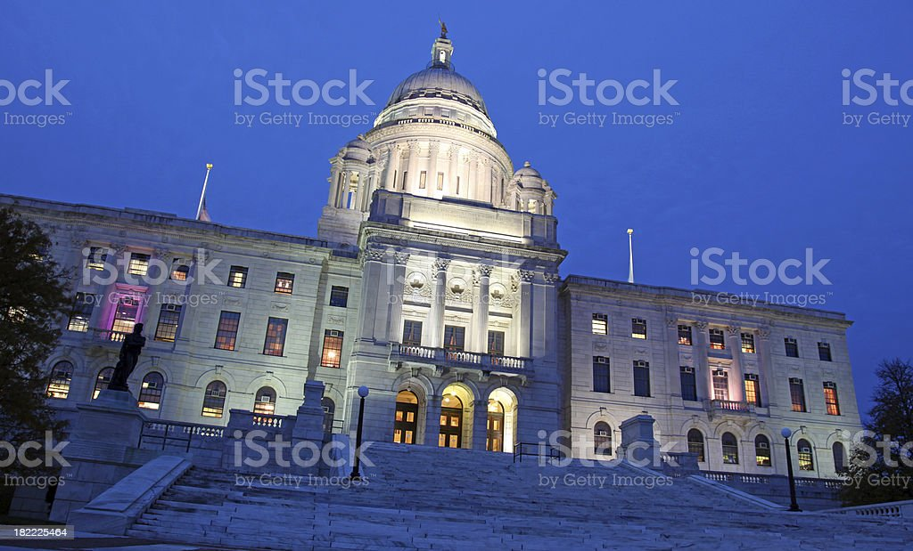 state capital of rhode island royalty-free stock photo
