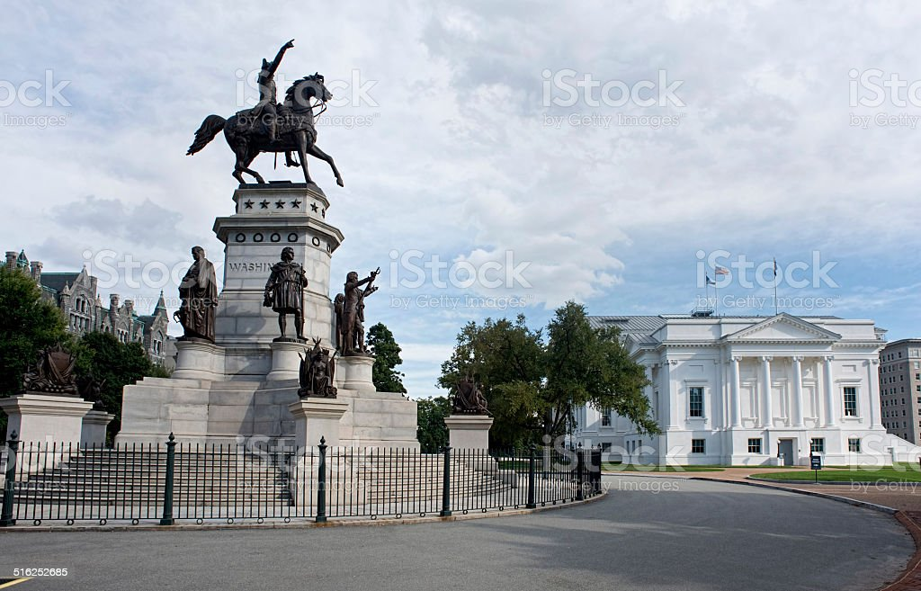 State Capital of Virginia. stock photo