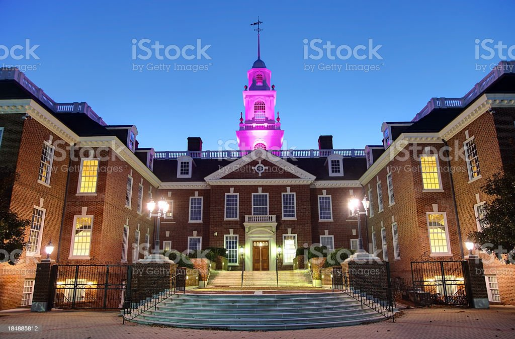 State Capitol Building of Delaware stock photo