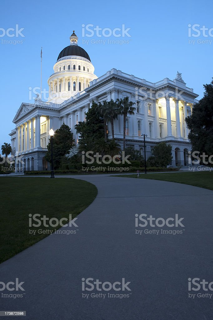State Capitol Building. royalty-free stock photo