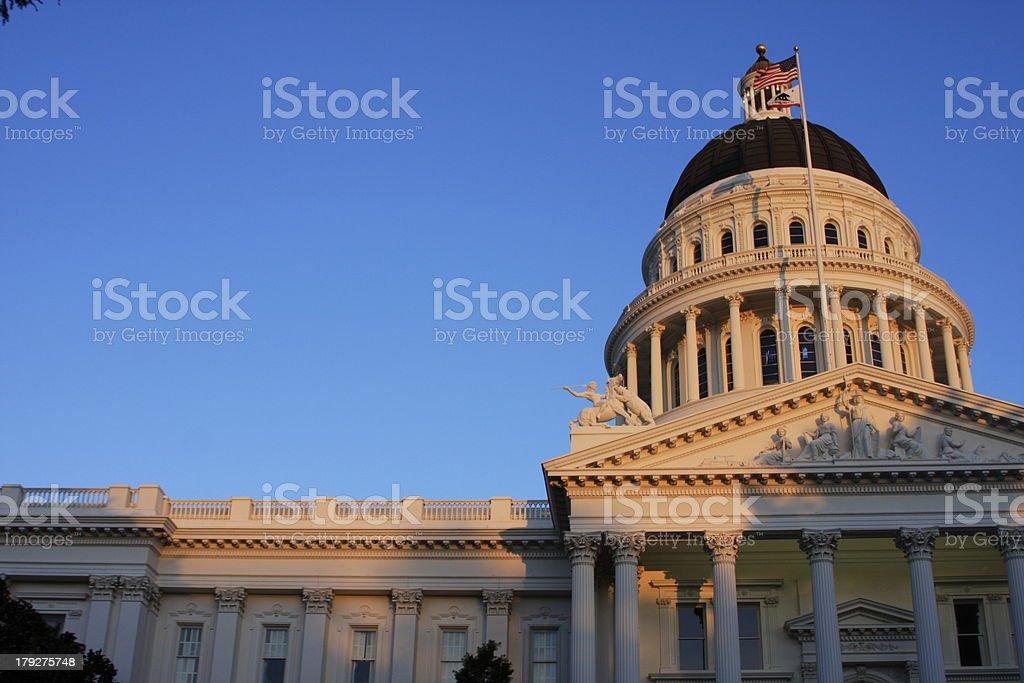 State Capitol Building, Sacramento, California royalty-free stock photo