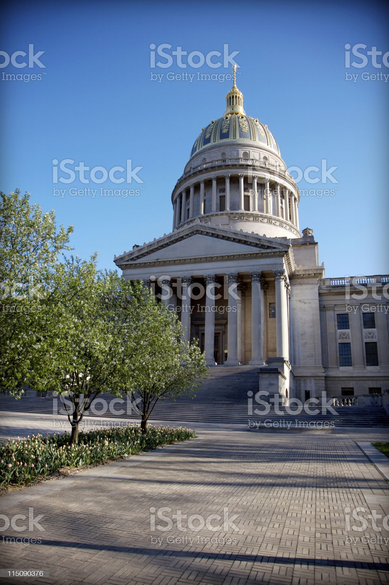 State Capitol Building - West Virginia royalty-free stock photo