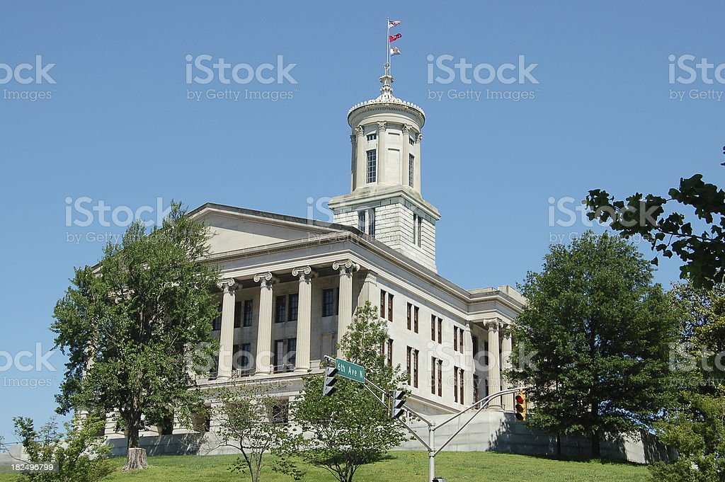 State Capitol in Nashville royalty-free stock photo