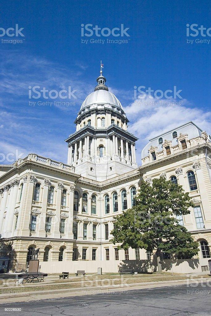 State Capitol of Illinois stock photo