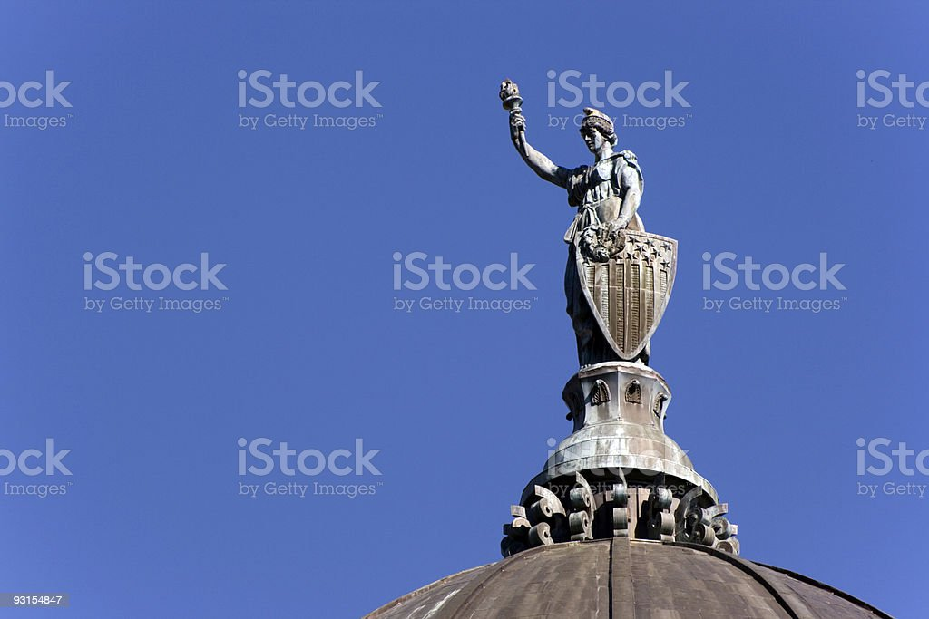 State Capitol of Montana royalty-free stock photo