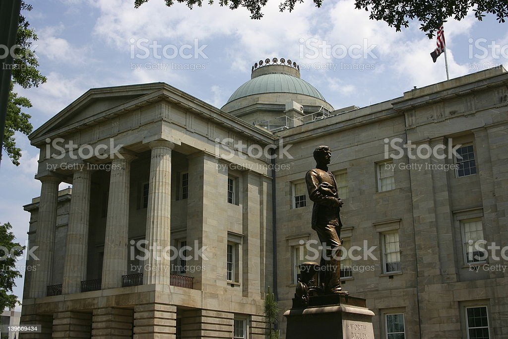 NC State Capitol royalty-free stock photo