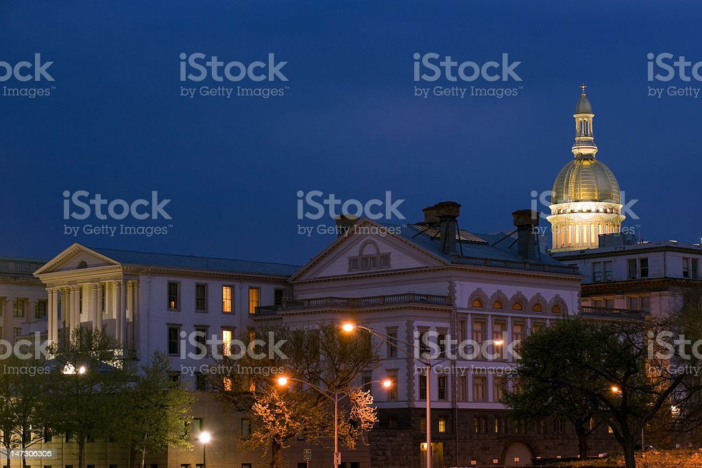 NJ State capitol royalty-free stock photo