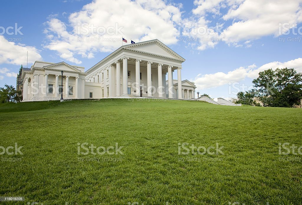 State Capitol Richmond Virginia royalty-free stock photo