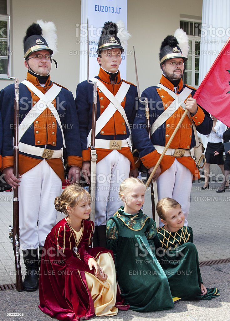State Day of Lithuania, Vilnius royalty-free stock photo