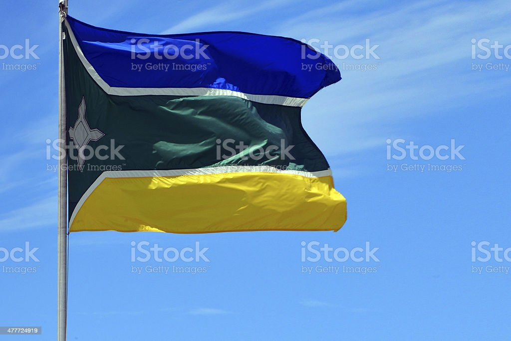 State flag of Amap? - Brazil stock photo