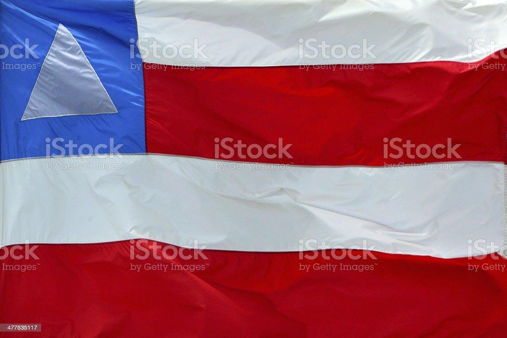 State flag of Bahia - Brazil stock photo