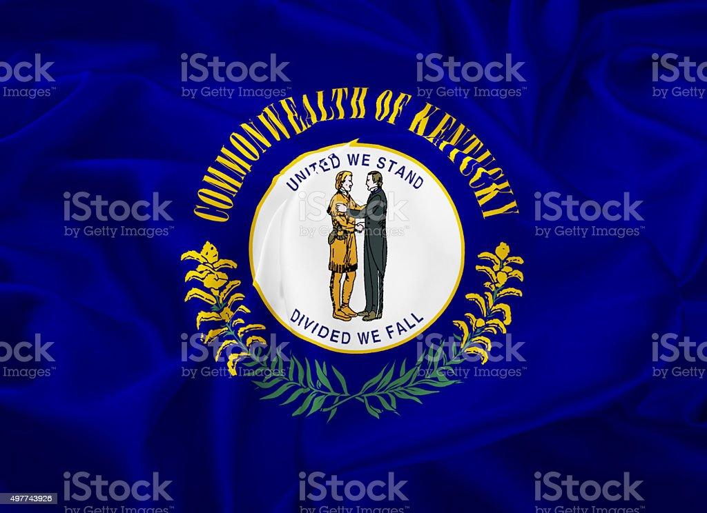 State Flag of Kentucky vector art illustration