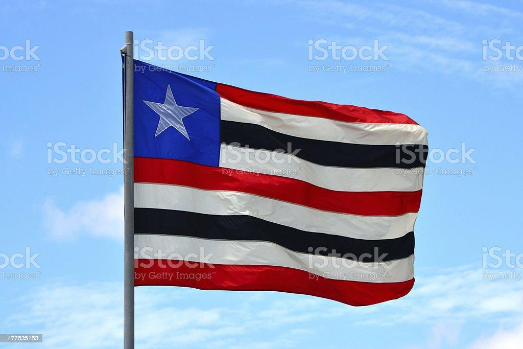 State flag of Maranh?o - Brazil stock photo