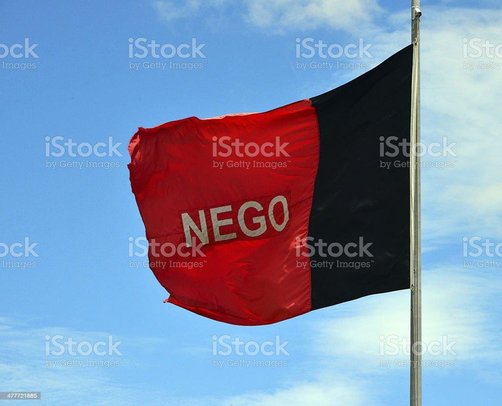 State flag of Paraíba - Brazil stock photo