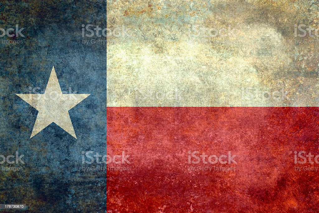 State Flag of Texas stock photo
