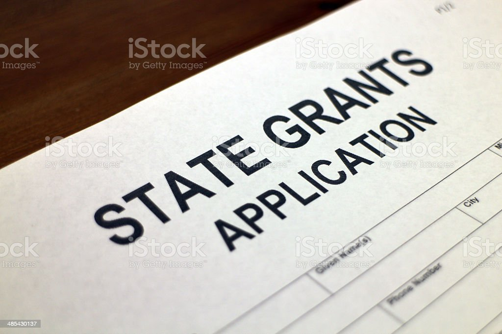 State Grants stock photo