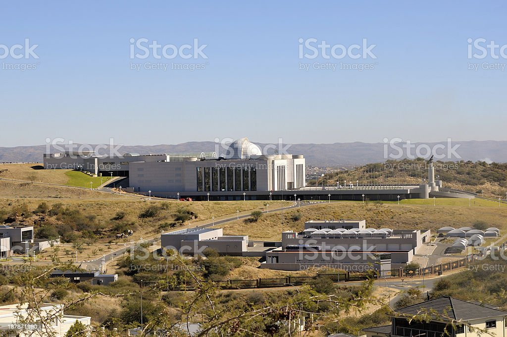 State House in Windhoek stock photo